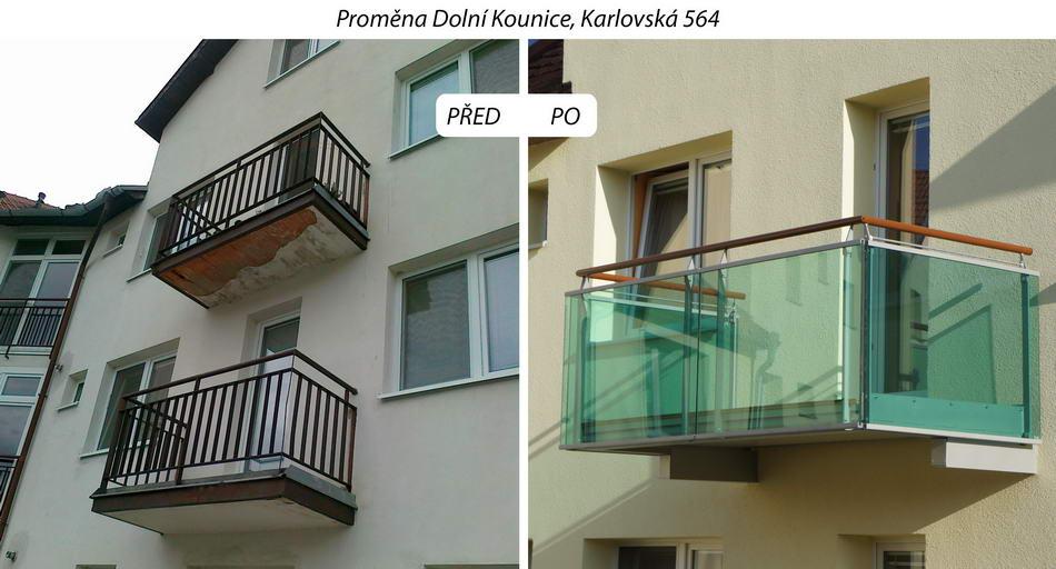 Zavesny balkon cena